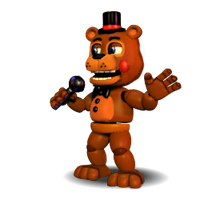Toy Freddy Accurate by YinyangGio1987
