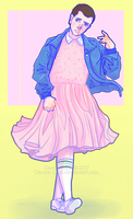40/50 Eleven - Stranger Things by Decora-Chan