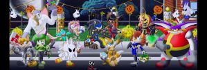 Sonic: Freedom Fighters - Costumed Crusaders by BroDogz