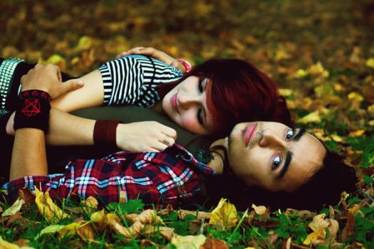 We fell in love with october by just4fun31