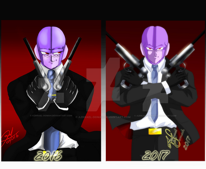 Hitman  Re Draw comparacion by Azrrael-domah