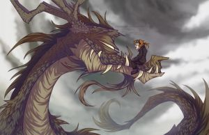 The man who wished to become a dragon pilot by JWiesner