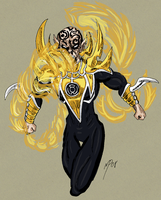 No Name 62 - Sinestro Corps by UltimeciaFFB