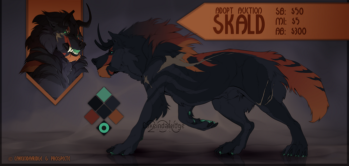 [CLOSED] Adopt AUCTION| 'SKALD' by Cakeindafridge