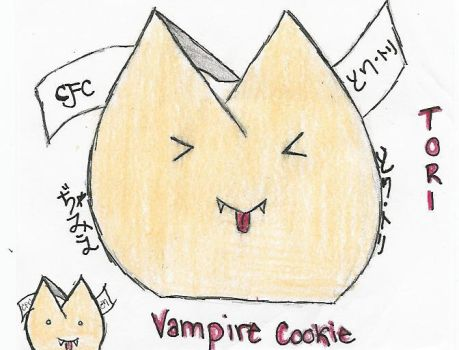 Vampire Cookie by cRaZy-FoRtUnE-cOoKiE