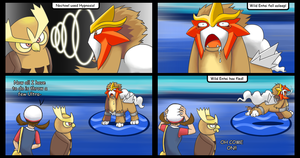 Fast Asleep Entei by stephi-JK