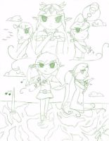 The Wind Waker - Sketch by Ppeacht