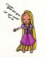 Rapunzel's song by ThEsIlKe