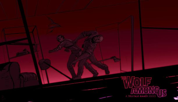 Wolf Among Us by LeVavour