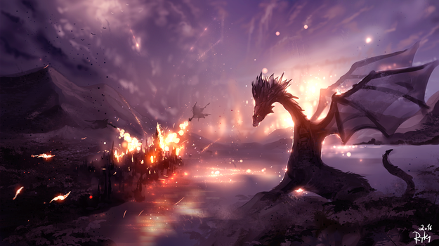 Dragon Age by ryky