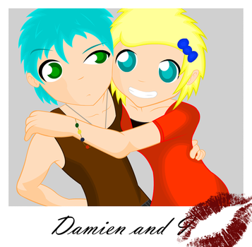 Damien and Lea by MIMItheangel