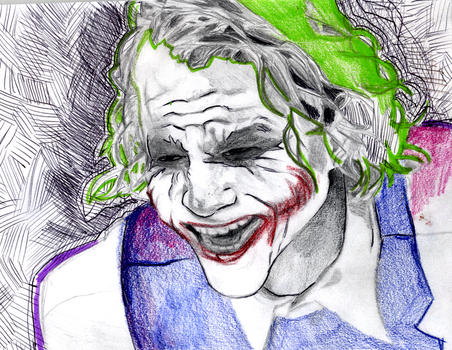 Taking My anger Out on Joker by Sophillia
