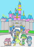 Emotions At Disneyland: Sleeping Beauty's Castle by CraigTheCrocodile