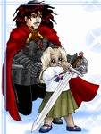 Vlad and Young Integra by ErinPtah