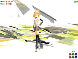 MMD Rin Append Yellow by miyukilee123