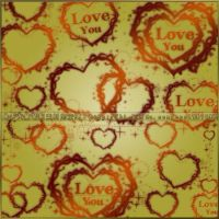 love heart  brushes by coolwing