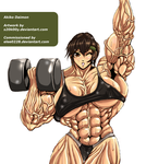 Akiko Daimon by S20K00Y by elee0228