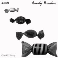 Candy Brushes by Bamfi-stock