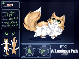 ALP| Leafpaw| Female| WindClan Apprentice by GrinningAngora