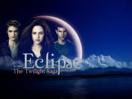 Eclipse Wallpaper I by NessaSotto