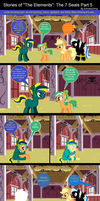 Stories of The Elements: The 7 Seals Part 5 by EmoshyVinyl