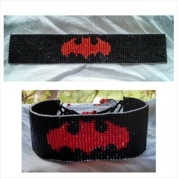 Batman Bracelet by ravenarcana