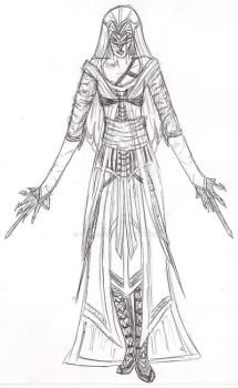 Assassinscreedy outfit concept by EloiseS16