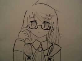 With glasses by vmxk