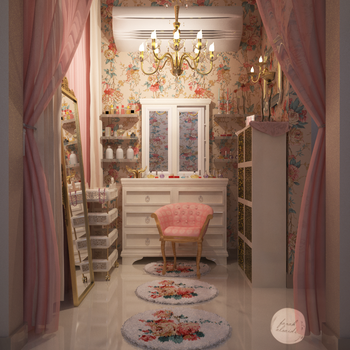 Make-up Room by Fro7a