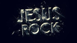 Jesus Rock -  Wallpaper by mostpato
