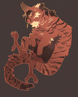 tigers prongs - ota by peachdelight