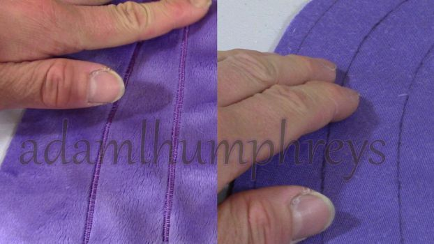 Sewing Tutorial 6: Detail Lines (Zig-zag Stitches) by adamlhumphreys