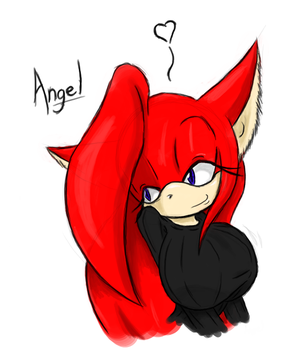 Moar Cat Angel by AngelTheCatgirl