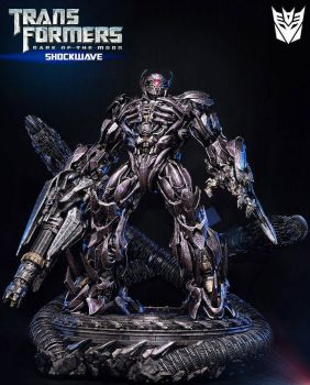 Transformers Toys -  Shockwave Statue by Prime 1 by epicheroes