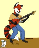 Jamin' by Arctic-whitefox