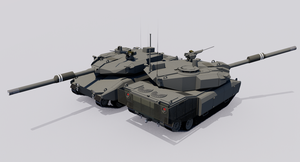 120mm Armored Gun System M15A5S+ by TheoComm