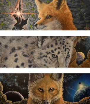 Edge of Space Tryptych by AraPersonica