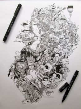 THE GIOCONDA PROJECT by kerbyrosanes