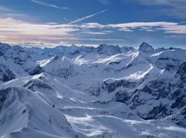 View from Nebelhorn III by da-phil