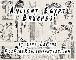 Ancient Egypt Brushes by FoxFireRed