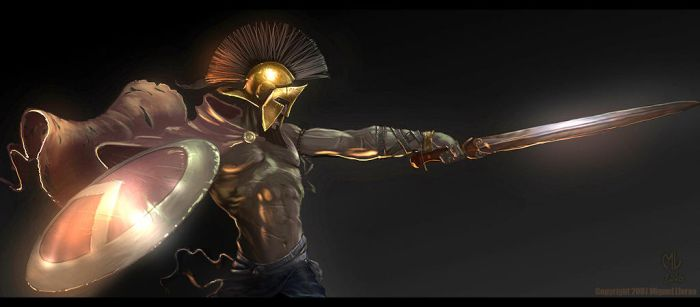Spartan King by Miggs69