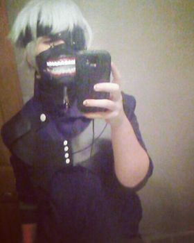 My Kaneki Cosplay by michikochan3000