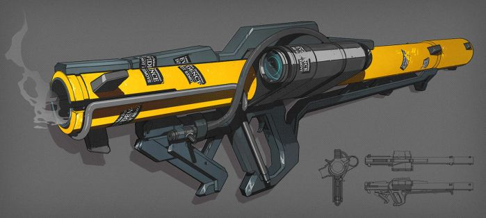 rocket launcher by SoundHunter