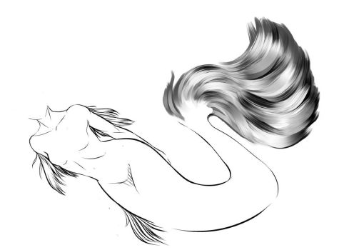 Mermay day 4 submission  by Aaliyae