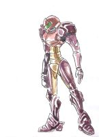 Samus by Syntheticcake