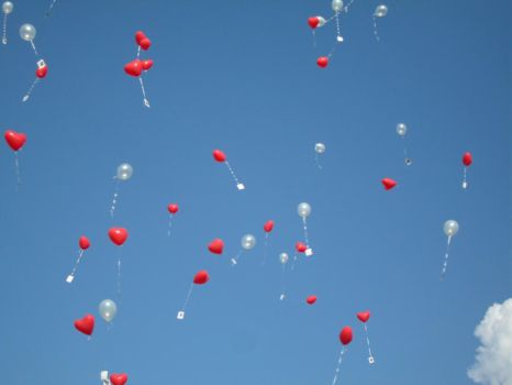 Balloons Up and Away III by Mr-Dummy