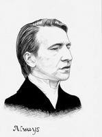 Alan Rickman by hamboggy