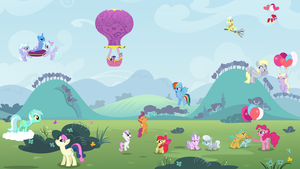 The Ponies They Just Fly By by adcoon
