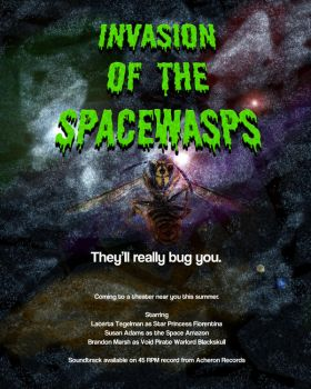 Invasion of the Spacewasps by Nephilim-X
