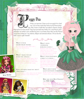 Ever After High: Peggy Pea by MevrouwRoze
